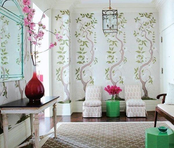Cum să-ți redecorezi sufrageria cu tapet